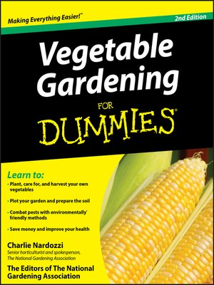 cover image of Vegetable Gardening For Dummies
