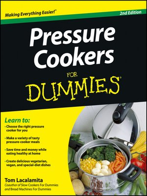 cover image of Pressure Cookers For Dummies