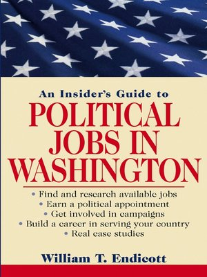 cover image of An Insider's Guide to Political Jobs in Washington