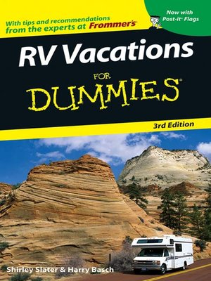 cover image of RV Vacations For Dummies