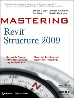 cover image of Mastering Revit Structure 2009
