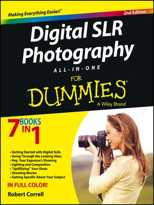 cover image of Digital SLR Photography All-in-One For Dummies