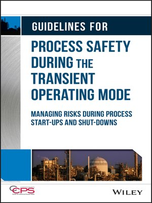 cover image of Guidelines for Process Safety During the Transient Operating Mode