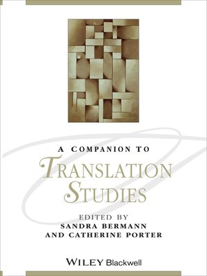 cover image of A Companion to Translation Studies