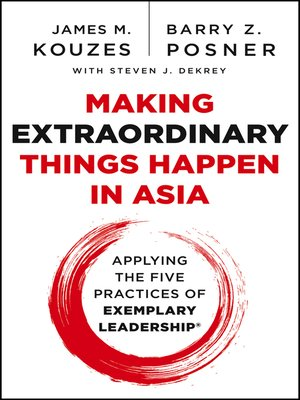 cover image of Making Extraordinary Things Happen in Asia