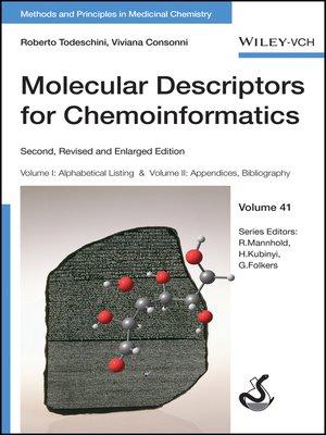 cover image of Molecular Descriptors for Chemoinformatics, Volume 41 (2 Volume Set)