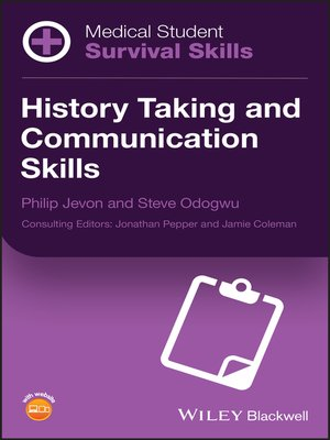 cover image of History Taking and Communication Skills
