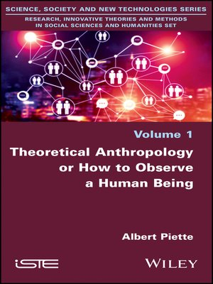 cover image of Theoretical Anthropology or How to Observe a Human Being