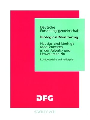 cover image of Biological Monitoring