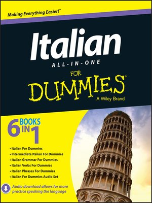 cover image of Italian All-in-One For Dummies