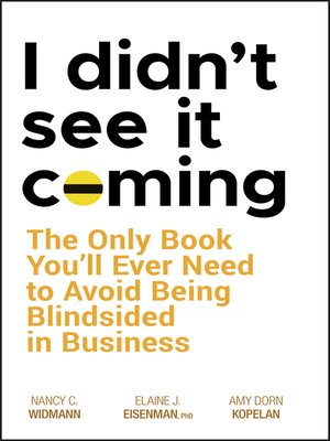 cover image of I Didn't See It Coming