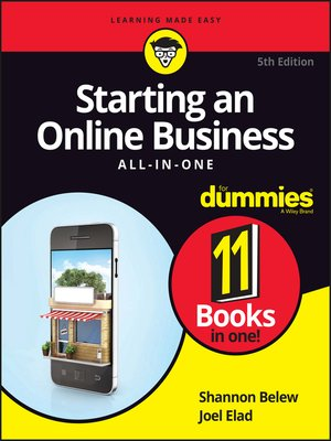 cover image of Starting an Online Business All-in-One For Dummies