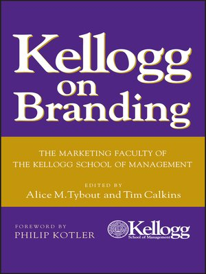 cover image of Kellogg on Branding