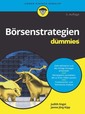cover image of Börsenstrategien für Dummies