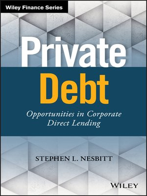 cover image of Private Debt
