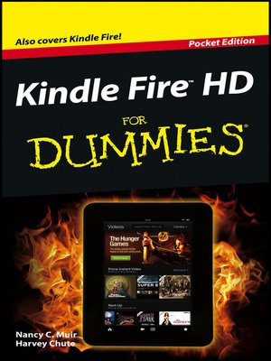 cover image of Kindle Fire HD For Dummies