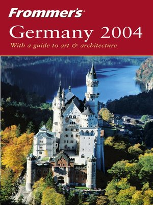 cover image of Frommer's Germany 2004