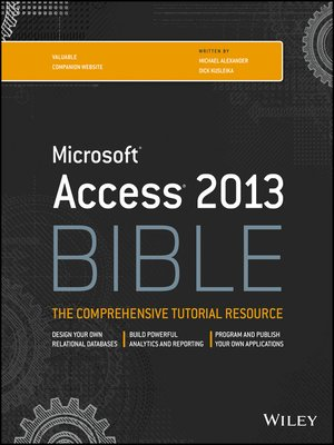 cover image of Access 2013 Bible