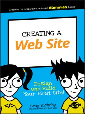 cover image of Creating a Web Site