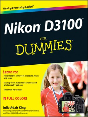 cover image of Nikon D3100 For Dummies