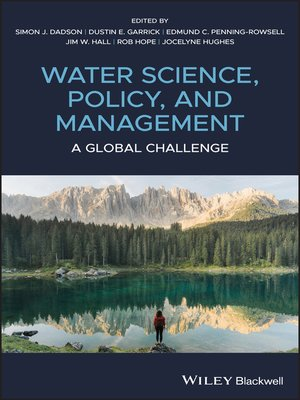 cover image of Water Science, Policy and Management