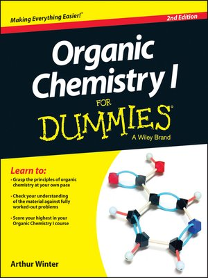 cover image of Organic Chemistry I For Dummies