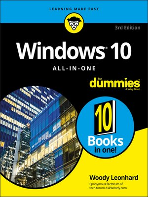 cover image of Windows 10 All-In-One For Dummies