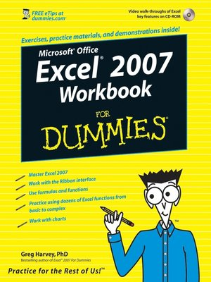 cover image of Excel 2007 Workbook For Dummies