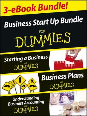 Business Start Up For Dummies Three E Book Bundle By Colin