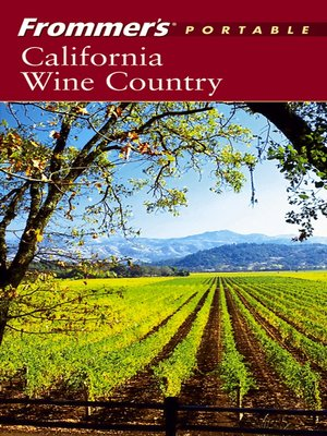 cover image of Frommer's Portable California Wine Country