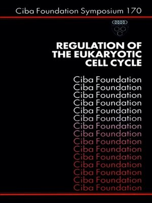 cover image of Regulation of the Eukaryotic Cell Cycle