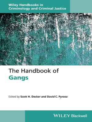cover image of The Handbook of Gangs