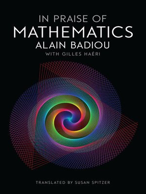 cover image of In Praise of Mathematics