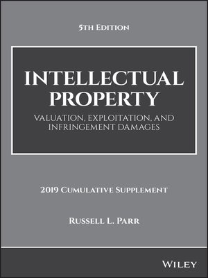 cover image of Intellectual Property, 2019 Cumulative Supplement