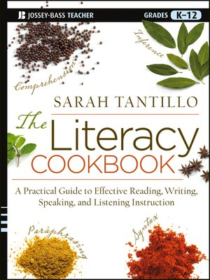 cover image of The Literacy Cookbook
