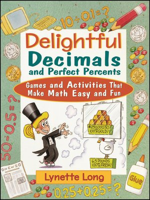 cover image of Delightful Decimals and Perfect Percents