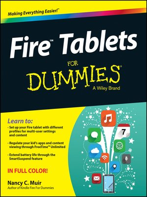 cover image of Fire Tablets For Dummies