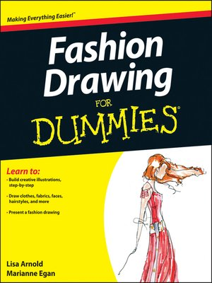 cover image of Fashion Drawing For Dummies