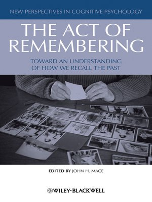 cover image of The Act of Remembering