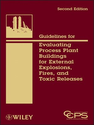 cover image of Guidelines for Evaluating Process Plant Buildings for External Explosions, Fires, and Toxic Releases