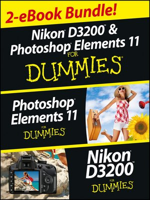 cover image of Nikon D3200 and Photoshop Elements For Dummies eBook Set