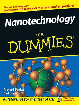 cover image of Nanotechnology For Dummies