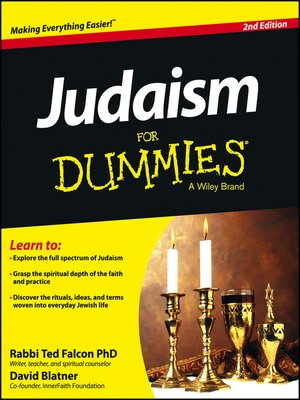 cover image of Judaism For Dummies