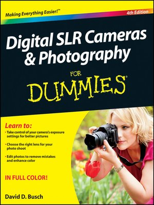 cover image of Digital SLR Cameras and Photography For Dummies