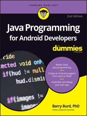 cover image of Java Programming for Android Developers For Dummies