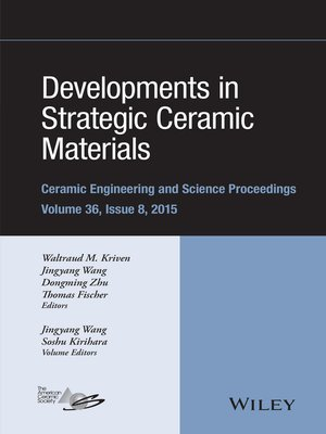 cover image of Developments in Strategic Ceramic Materials