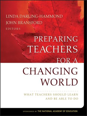 cover image of Preparing Teachers for a Changing World