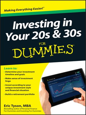 cover image of Investing in Your 20s & 30s For Dummies