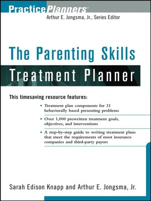 cover image of The Parenting Skills Treatment Planner