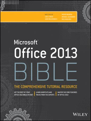 cover image of Office 2013 Bible